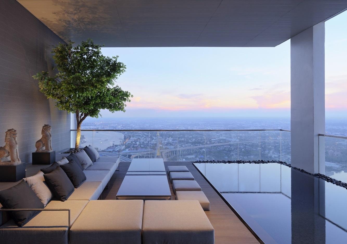Dizajn penthausa: Arhitektura u oblacima