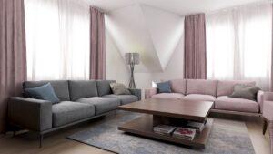 Pastelne boje u savšeno uređenom domu po ideji Mbt architecture studia