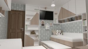 Ideja za uređenje dječije sobe u kreaciji arhitektice Ivane Gluhović