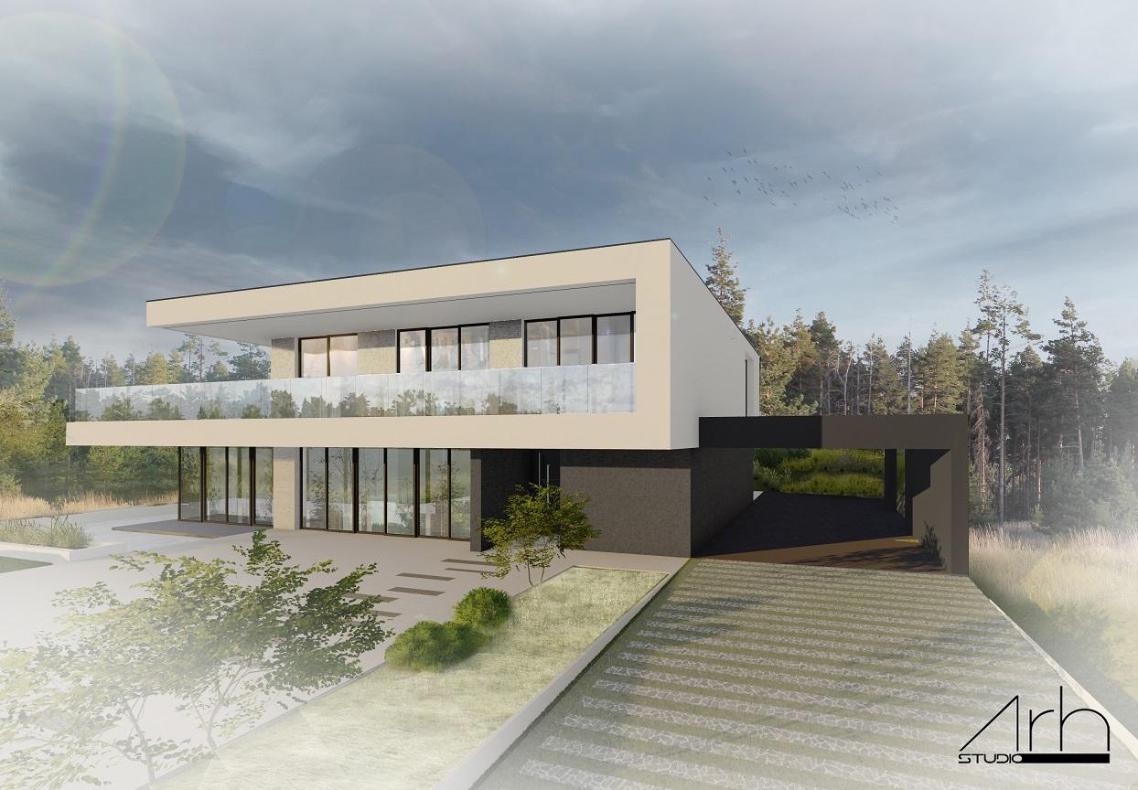 Projekat stambenog objekta u Hadžićima