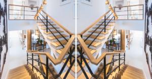 I stepenice mogu biti dio dekorisanja kuće
