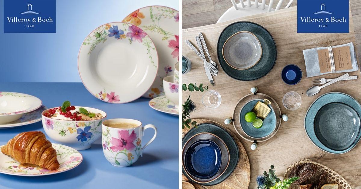 Učinite Vaš stol iznimnim uz posuđe elegantnog stila i vrhunske kvalitete Villeroy&Boch