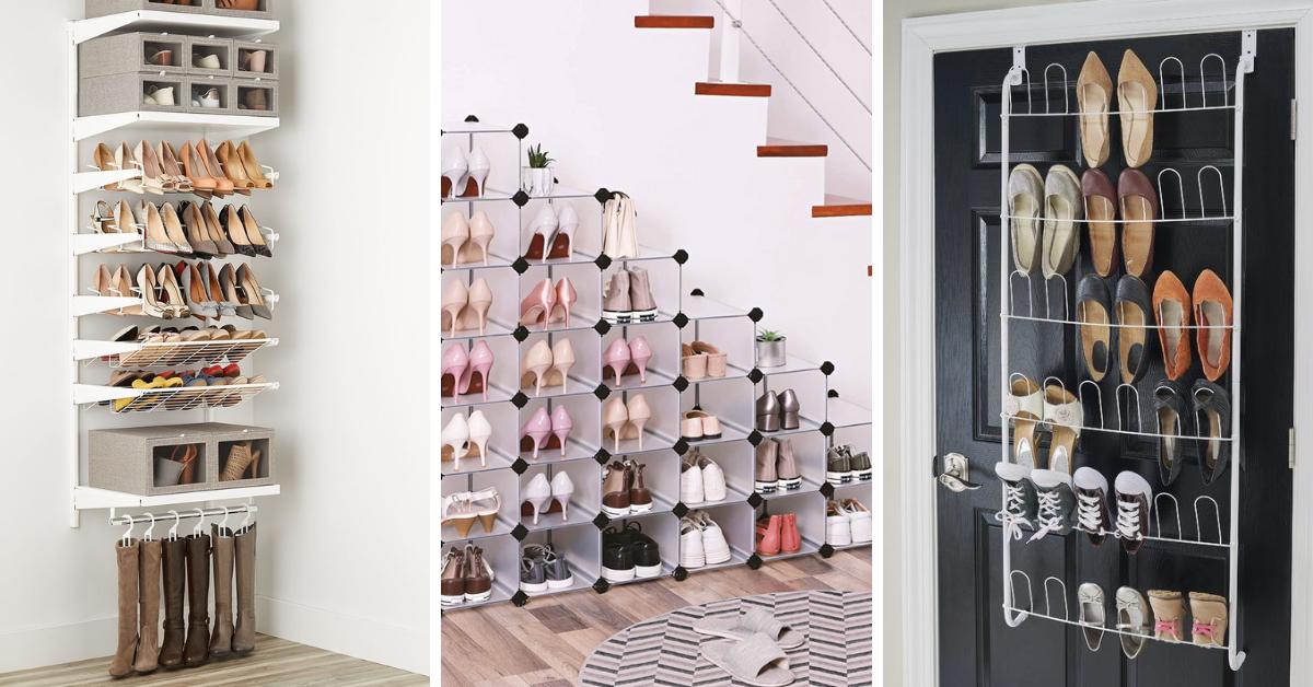 6 pametnih načina na koje možete naći prostora i organizovati sve svoje cipele